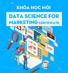 Khóa học mới Data Science for Marketing Certificate