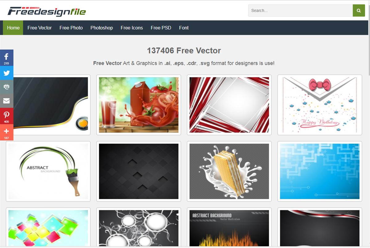 Thiết kế Đồ Họa] 11 kho vector miễn phí dành riêng cho Designer (Phần 1)