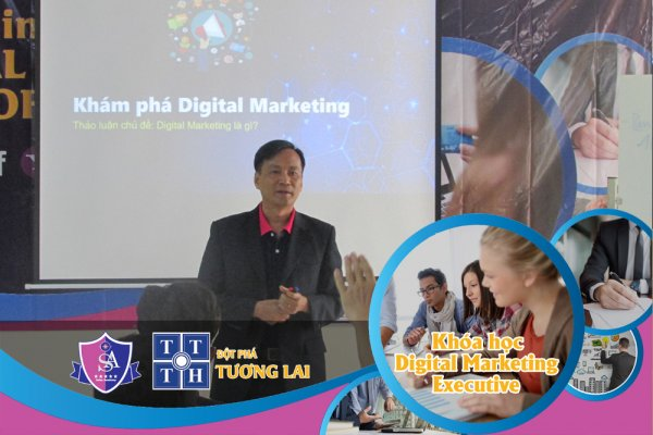 Khai giảng khóa học Digital Marketing Executive