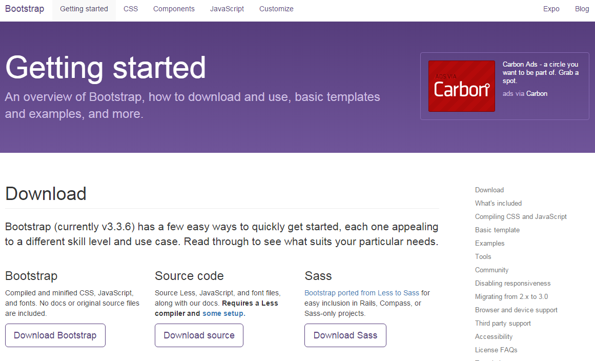 Sử dụng Bootstrap để tạo giao diện cho trang web hỗ trợ responsive