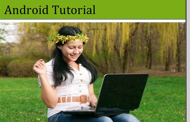 An Android Tutorial/Book