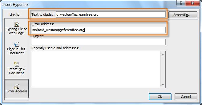 Hướng dẫn chèn nhanh Hyperlink trong văn bản
